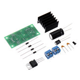 Rectifier Filter Power PCB Board Kit Single Power Rectifier Filter Board Circuit Board 15V Full Set of Parts
