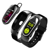 Kingwear KR04 auricolare bluetooth per chiamate HR Monitor Wake-up Gesto Ricerca vocale Auricolare Smart Watch Banda