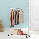 80*45*130cm Clothes Hanger Hanging Display Garment Rack Coat Rail Stand