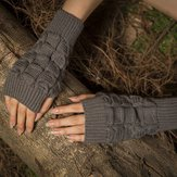 Warm Knit Fingerless Gloves