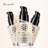 Latina Bb Creme Nude Makeup Concealer Stark feuchtigkeitsspendende weiße Emaille Oil Control Liquid Foundation Make-up