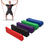 2 m Natural Lateks Resistance Loop Latihan Band Kebugaran Kekuatan Pelatihan Workout Resistance Band