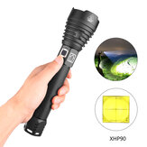 XANES 1909 XHP90 2500 لومينز 3 طرق USB قابلة للشحن Zoomable LED Flashlight Outdoor 18650/26650 Flashlight LED Torch