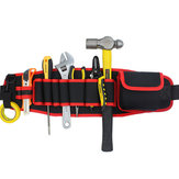 Eletricistas cintura ajustável bolso Cinto ferramenta Bolsa bolsa organizador ferramenta de reparação de mão