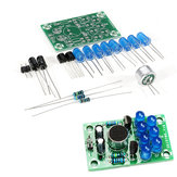 DIY Electronic Kit Set Voice-activated Melody Light Fun Soldering Practice Production Board Training Parts