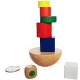 1バッグパズル木製幾何学的バランスゲーム楽しいおもちゃジグソーパズル子供のためのおもちゃ教育学習文具用品