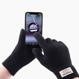 Unisex Winter Mobile Screen Touch Gloves Stretch Knit Warm Gloves