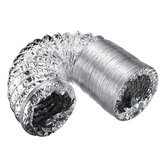 2/3m Aluminum Flexible Ducting Ventilation Pipe Exhaust Breather Hose Pipes Air Ventilation Pipe Hose