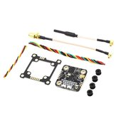 EACHINE TXC23 VTX 5.8Ghz 48CH 25/200/600/800mW FPV Mini Transmitter 28*28mm 36*36mm Mounting Board Pitmode IRC Tramp for Mobula7 Wizard x220s RC Drone