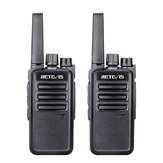 2 STKS Retevis RT68 16 Kanalen Frequentie 462 MHz Mini Ultra Light Handheld Radio Walkie Talkie Intercom