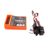 Skywalker 6-Axis Flight Controller Gyroscope Compatible PPM PCM For T-Tail/V-Tail/Delta-Wing Fixed-wing RC Airplane