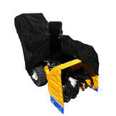 Black Polyester All Weather Protective Snow Thrower Cover 158x77x110cm