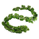 Yapay Ivy Vine Bitki Yaprak Garland Asma Ev Outdoor Düğün Süslemeleri