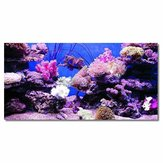 Coral HD Aquarium Background Poster Fish Tank Decorations Landscape Self