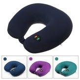 Portable 6 Modes USB Rechargeable U-Shaped Neck Massager Electric Massager Cervical Vertebra Cushion Pillow Massager