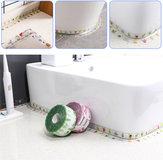3.2M Водонепроницаемы Уплотнительная лента Самоклеящаяся лента для плесени для кухни Ванная комната Уголок для унитаза