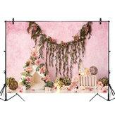 5x3FT 7x5FT 9x6FT Цветочный декор Розовый Настенная фотография Фон Фон Студия Проп