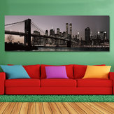 DYC 10977 Single Spray Oil Paintings Bustling City Building Scenery For Home Decoration Paintings Wall Art