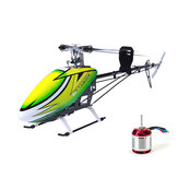 JCZK 700 DFC 6CH 3D Flying Shaft Drive RC Helicopter Kit With 530KV Brushless Motor