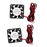 Anet® 2Pcs 4010 40*40*10mm 12V DC Brushless Cooling Fan with Wire for RepRap Prusa i3 DIY 3D Printer