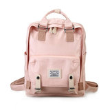 Women Travel Pleuche Back To School Backpack Rucksack Shoulder Bag