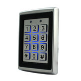 125Khz EM ID Metal Case Gate Opener Door Lock RFID Reader Access Control Keypad with Back Light