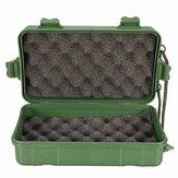 21x11x6.5CM Kit in plastica verde Scatola Supporto per custodia per torcia LED lampada Accessori per torcia per faro