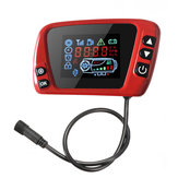 12V / 24V Rode LCD-thermostaat Displayschakelaar voor Diesel Air Parking Heater Vehicle