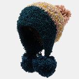 Gorro de mujer con estilo cálido de punto Sombrero