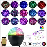 Lampe de musique portable Bluetooth DJ Party 16 Light avec télécommande Stéréo Subwoofer Party Lights pour Stage Bar