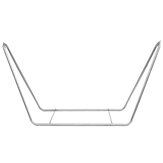 Portable Large Garden Camping Outdoor Patio Hammock Metal Frame Stand