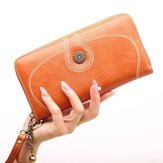 Women Large Capacity Wallet Card Case Phone Clutches Bag