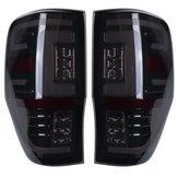 1 par luz traseira LED diy luz do carro 2 cores lâmpada de freio traseiro para ford ranger raptor T6 T7 PX XL XLT MK1 MK2 2012-2019