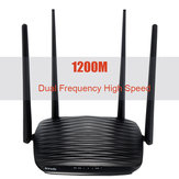 1200Mbps Wireless-N Smart Router WiFi High-Speed Range Extender for Home Office 2.4G & 5G