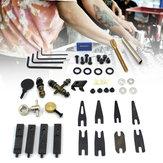 タトゥーマシンアクセサリーパーツキットネジ針フックナットアクセサリーボックス