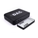 Digital to Analog Audio Converter Audio Signals to AV Power Amplifiers Audio Adapter