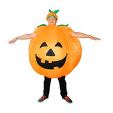 Halloween Pumpkin Costumes Stage Show Pumpkin Inflatable Suits Toys for Adults