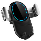 10W Qi Wireless Charger Fast Charging Air Vent Car Phone Holder 360 Degree Rotation For 4.0-6.5 inch Smart Phone