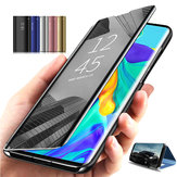 Bakeey Plating Mirror Window Shockproof Flip Full Cover Protective Case for Huawei Mate 30