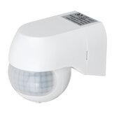 AC110-240V 800W IP44 al aire libre Detector de movimiento de 180 grados PIR Sensor para patio de jardín