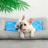 Tapis de refroidissement pour animaux domestiques de Xiaomi Youpin Ondulation de l'eau Bleu Dissipation de chaleur de longue durée Étanche Pad pour chien en chat