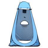 Tek Otomatik Çadır Kampçılık Anti-Uv Güneşlik Plaj Depolama Çadırı Tuvalet Çadırı Çanta
