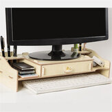Desktop Computer Riser Stand TV LCD Screen Monitor Mount Display Desk Organizer Monitor Bracket
