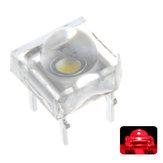100 PCS 5 MM DC2V Transparente Rodada Top Lens de Água Clara Lâmpada Emitindo Cor Vermelha LED Diodo Lâmpada DIY