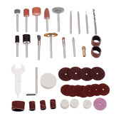 40pcs Multi Rotary Tool Accessories Set Grinding Polishing Abrasive Tool Sanding Drum Kit for Dremel