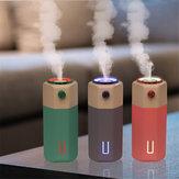 Bakeey 300 мл USB Colorful Дыхательный Свет Mute Регулируемый Ультразвуковой Увлажнитель Для Дома Авто Освежитель Воздуха Essential Масло Диффузор