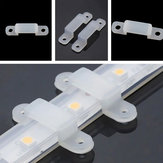 100PCS 12mm Width Mounting Brackets Fixed Silicon Clip for 3528 5050 LED Strip Light
