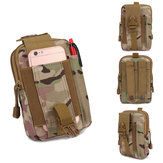 BENNIU BL064 Oxford MOLLE System Camouflage Military Tactical Waist Bag