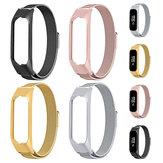 Bakeey Montre en acier inoxydable complet Bande Bracelet pour Samsung Galaxy fit-e R375