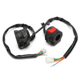 7/8inch 12V Motorcycle Handlebar Horn Turn Signal Light Headlight Control Start Switch